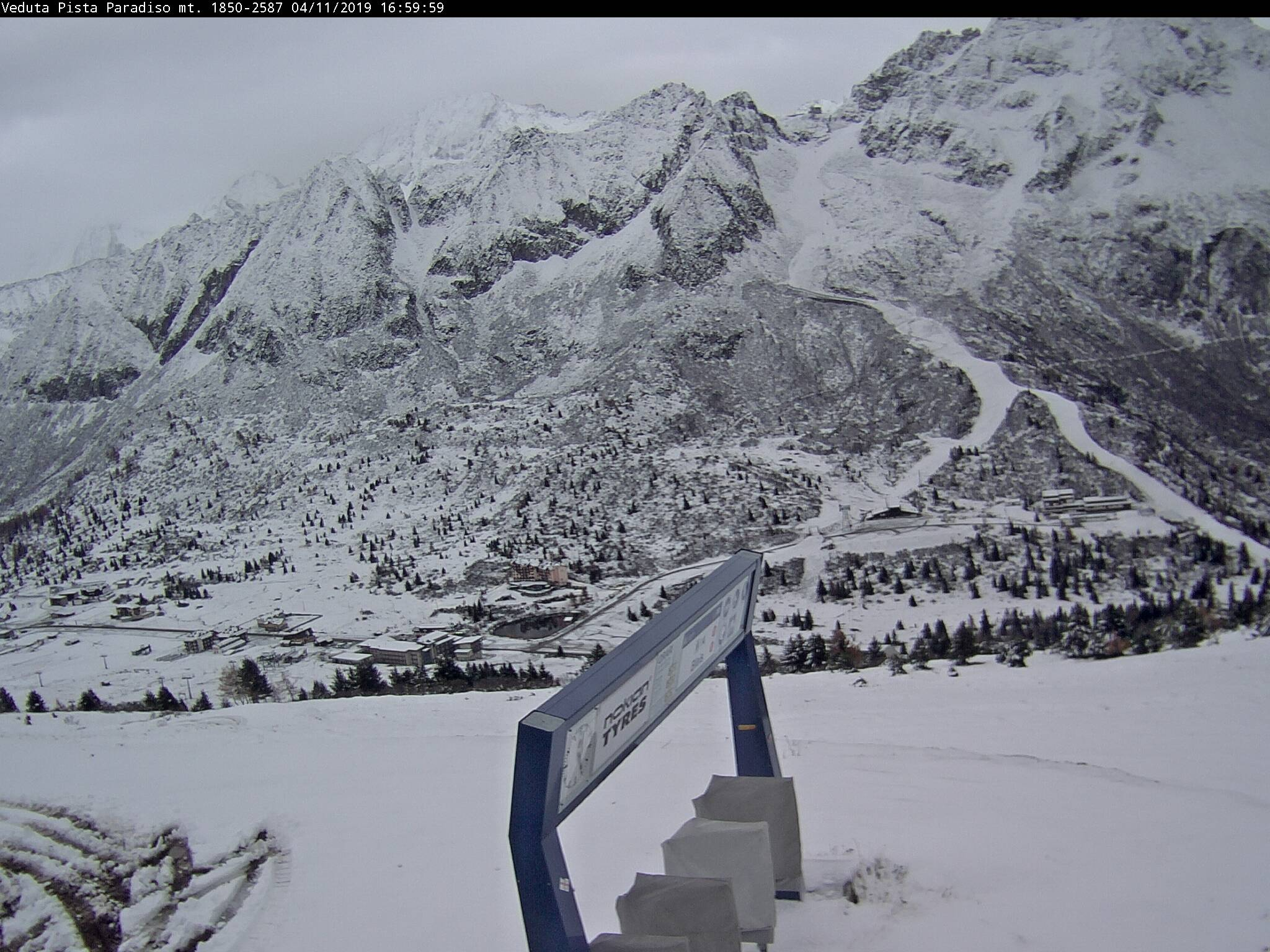 Webcam Panorama pista Paradiso