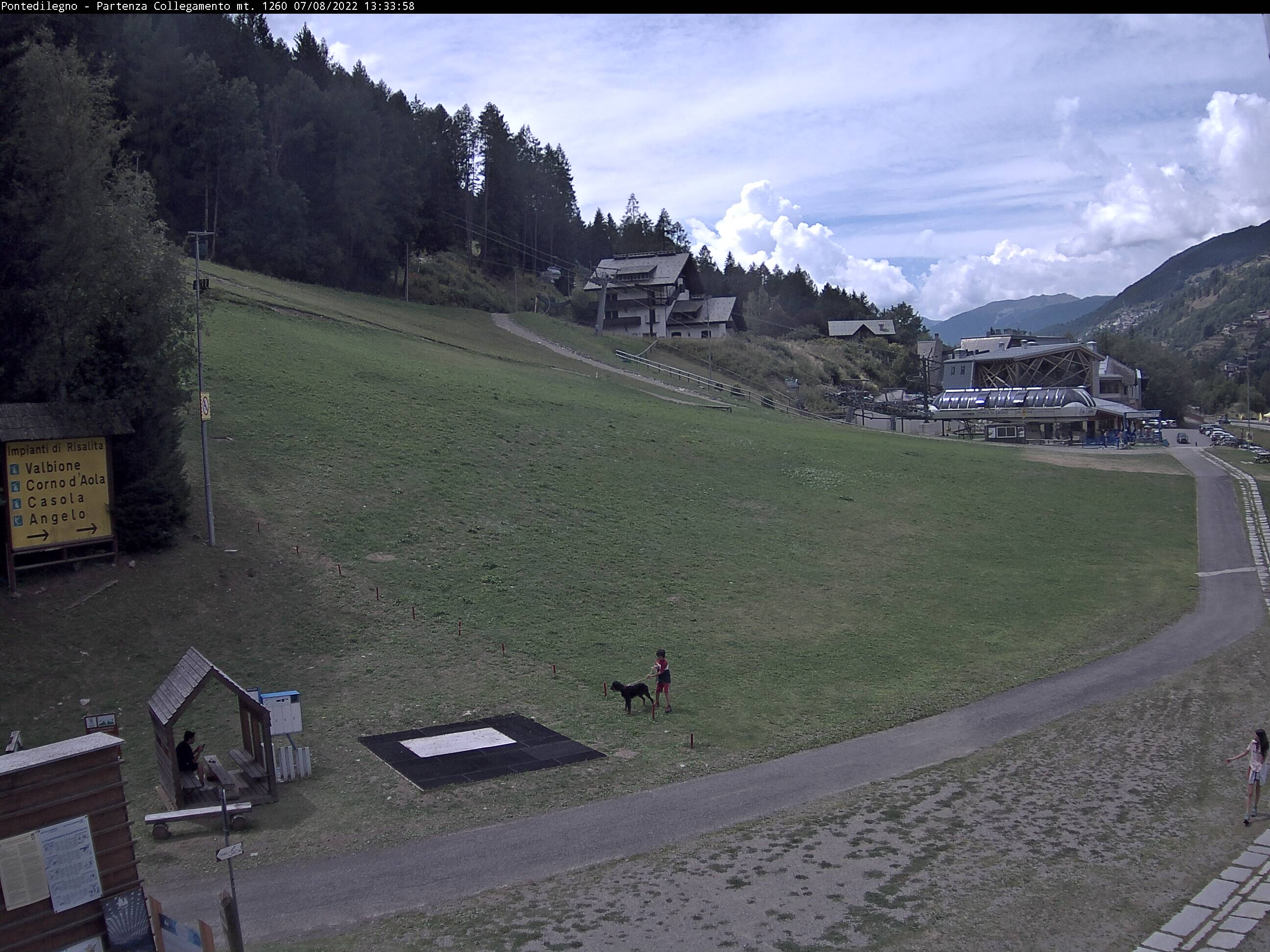 Webcam Pontedilegno - 1256 m Slm